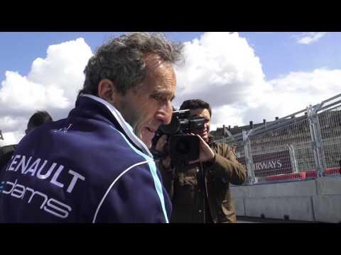 J-1 Paris ePrix 2017 FIA Formula E. Paris/France - 19 mai 2017