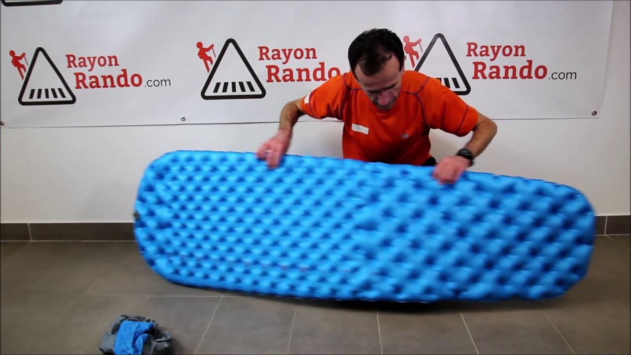 Rayonrandocom Présentation Du Matelas Gonflable Comfort Light De Sea To Summit