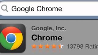 How To Download Google Chrome Ipod/Ipad/Iphone
