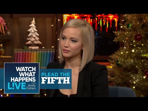 Jennifer Lawrence On Smoking Pot Before The Oscars - Plead The Fifth - WWHL