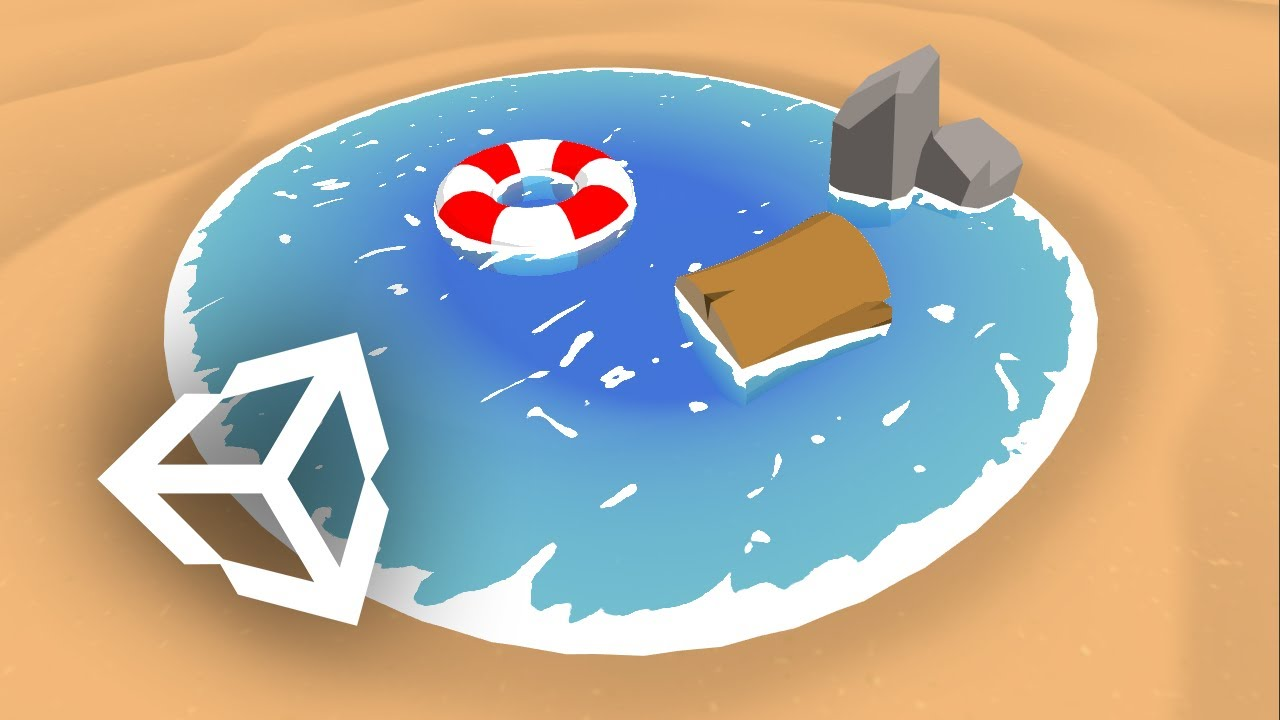Toon Water Shader Tutorial - Unity