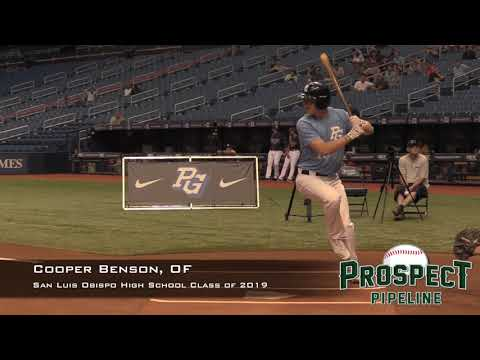 Cooper Benson Prospect Video, OF, San Luis Obispo High School Class of 2019