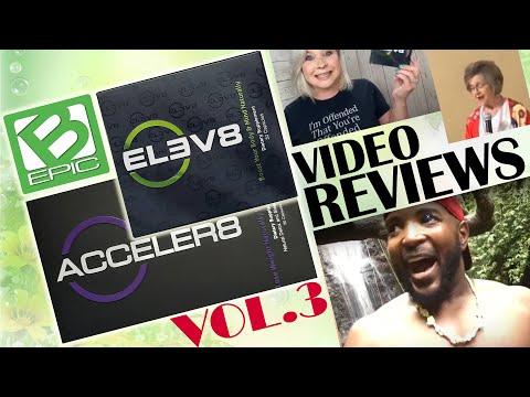 B-Epic Elev8/Acceler8 Pills Reviews (Vol. 3) - Sleep Disorders, Bloating, Brain Fog, Energy, Weight