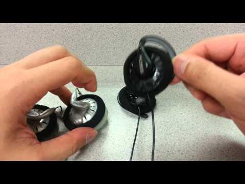 Koss KSC-35, KSC-75, Sportapro, Yuin headband/clip swap/mod
