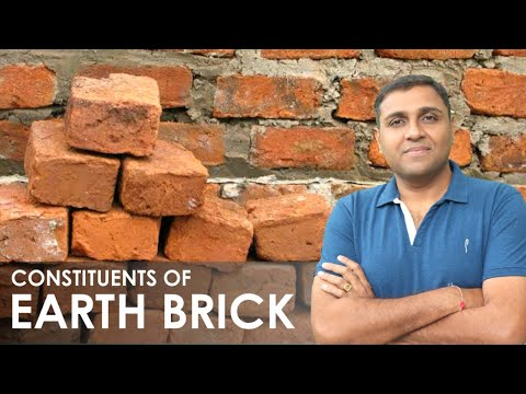 Constituents of Good Brick Earth   Compositionof Good Brick Earth   Functions of Brick Constituent