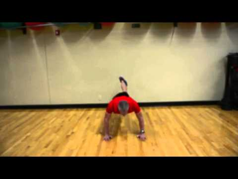 peter wimberg pushup variations at The Cincinnati Sports Club