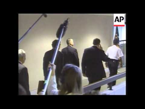 CIA chief arrives to give evidence on Iraq, reactions