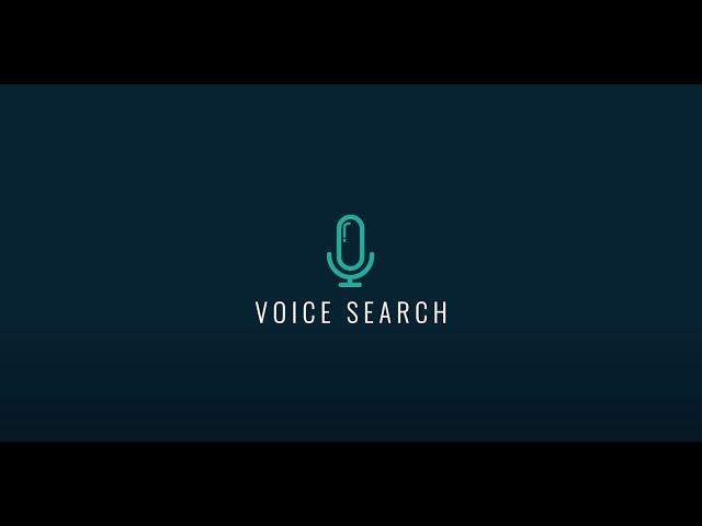Introducción del Producto // Voice Search