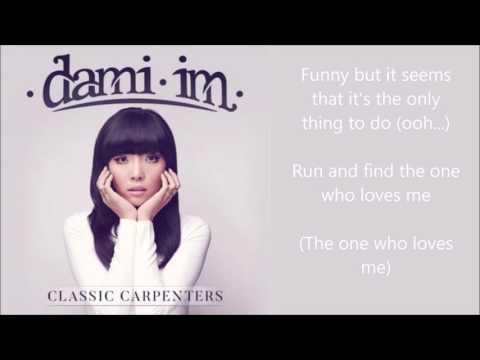 Dami Im - Rainy Days and Mondays - lyrics - Classic Carpenters album