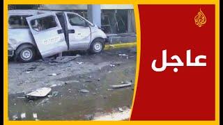 لقطات حصرية للجزيرة... آثار الدمار في مطار عدن الدولي بعد وقوع الانفجار
