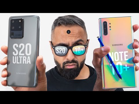 Samsung Galaxy S20 Ultra vs Galaxy Note 10 Plus