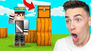 Jeśli ZNAJDZIESZ SKRZYNIĘ WYGRYWASZ to co JEST w ŚRODKU CHALLENGE z PALIONEM w Minecraft!