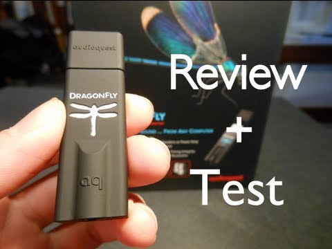 Audioquest Dragonfly: Test + Review + Unboxing
