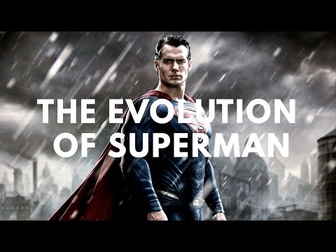 The Evolution of Superman in Television & Film