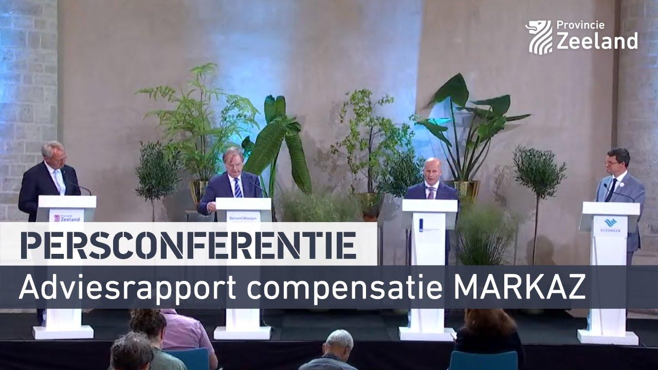 Persconferentie Adviesrapport Compensatiepakket