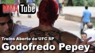Treino Aberto UFC SP - Godofredo Pepey (Open Workout)