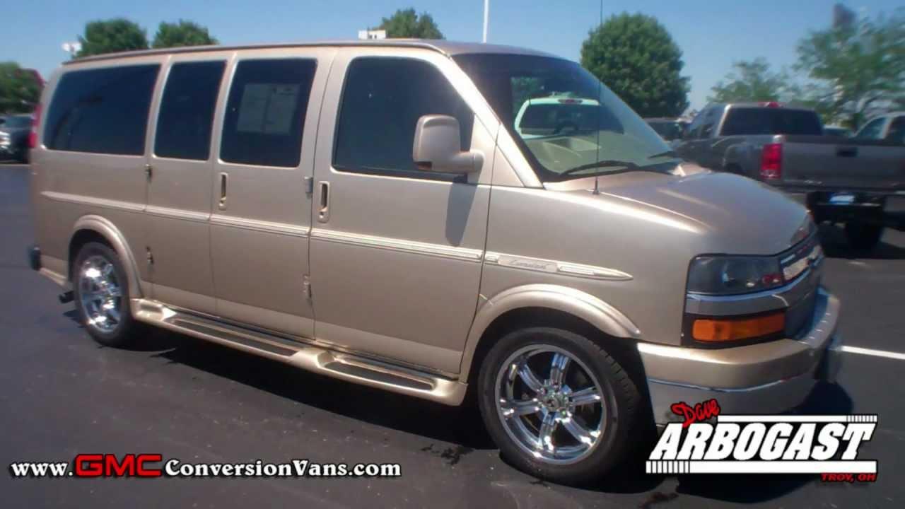 Conversion Vans For Sale >> Used 2009 Chevrolet Explorer Low Top Conversion Van   Dave ...