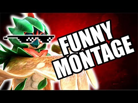 Download Youtube: FUNNY MONTAGE! NEW Pokken Tournament DX Funny Moments Gameplay