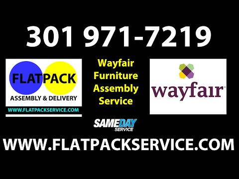 Wayfair Furniture Assembly Service In DC, MD, VA U0026 NYC 240 603 2781  Flatpack Assembly