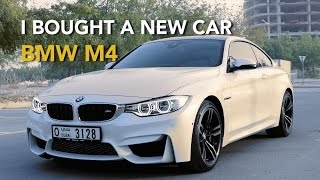 i bought a new car bmw m4