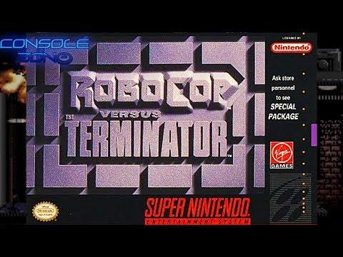Robocop versus Terminator (Super Nintendo) - прохождение игры