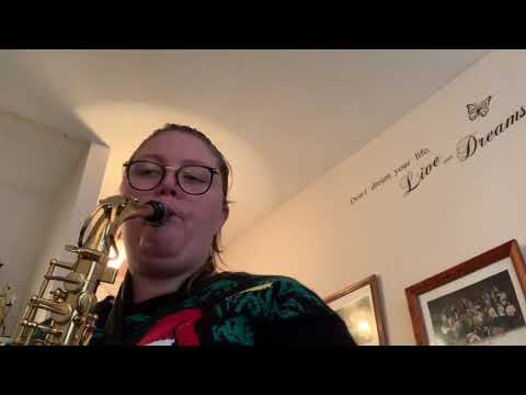 Personal Learning Project | Session # 8 (Chrm. & F+ scale review, Solo from Rockin' Around The.....)