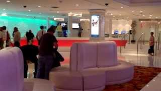 The New Tropicana Resort in  Las Vegas:  Entrance and Atmosphere (quick video)