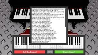 the world revolving - ROBLOX piano stuff