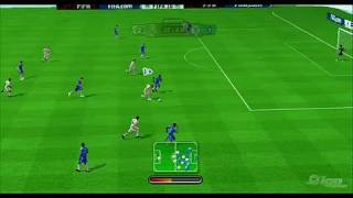 FIFA Soccer 10 Nintendo Wii Gameplay - Chelsea vs. Real