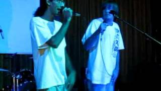 """Rise (Blind Sight)"" - Peace of Mind Crew w/ Different Definition - Live @ Fresh Cafe"