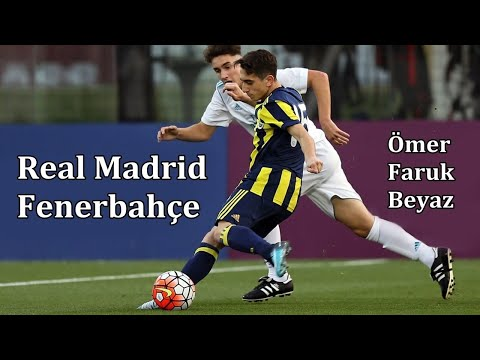 Ömer Faruk Beyaz (14 years old) - Real Madrid v Fenerbahçe - U17