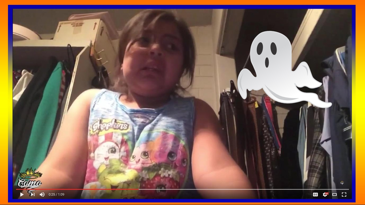 Little Girl Farts On Camera And Blames A Ghost - Youtube-8453