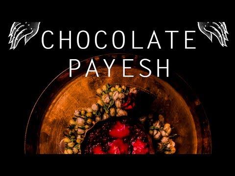 CHOCOLATE PAYESH(rice pudding) recipe | How to make CHOCOLATE PAYESH