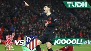 Gambar cover ¡Eliminados! Morata sentencia el partido | Liverpool 2 - 3 Atl. Madrid | Champions League | TUDN