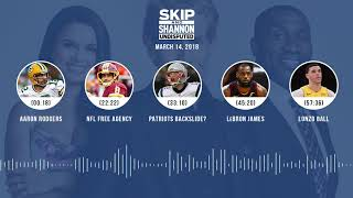 UNDISPUTED Audio Podcast (3.14.18) with Skip Bayless, Shannon Sharpe, Joy Taylor | UNDISPUTED thumbnail