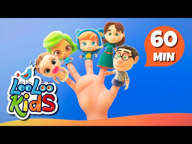 Finger Family - Learn English with Songs for Children | LooLoo Kids