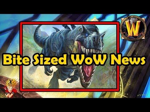 Bite Sized WoW News - Cata Timewalking, Un'Goro Madness