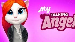 Обзор игры Моя Говорящая Анжела