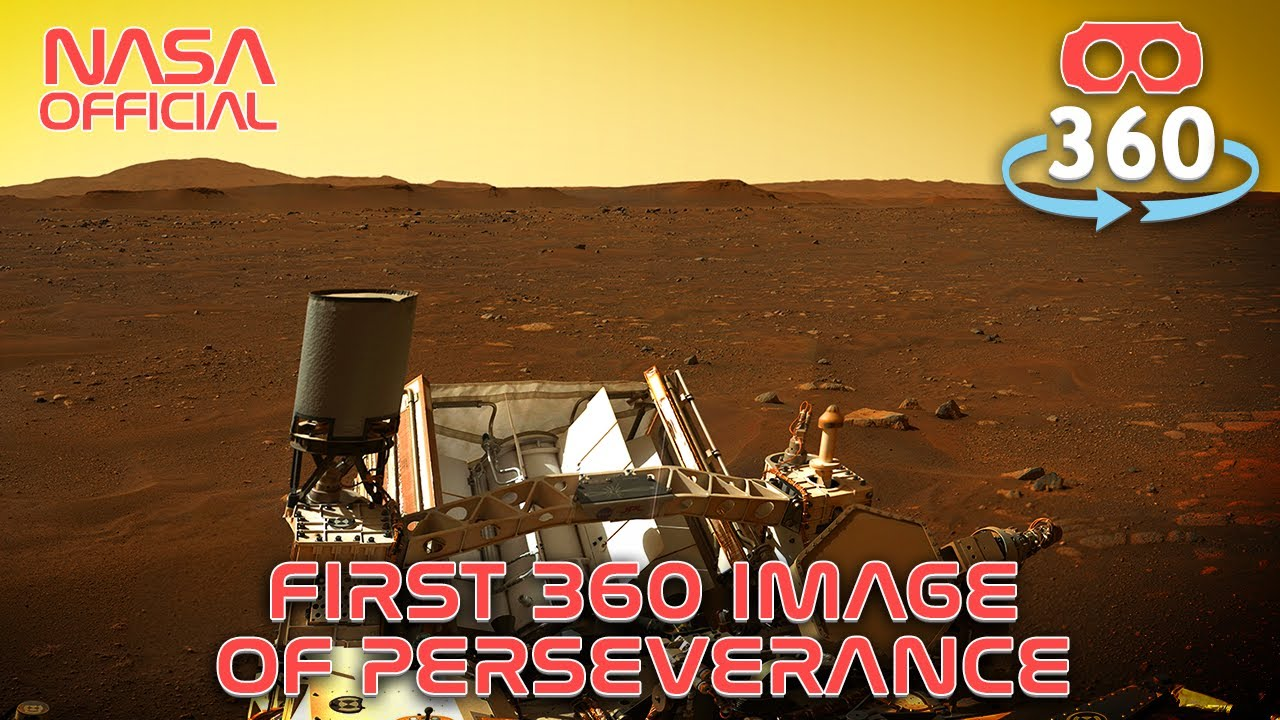 Download Perseverance Mission - Mars in 360º 4K #VR180 #VirtualReality #VR #360Video
