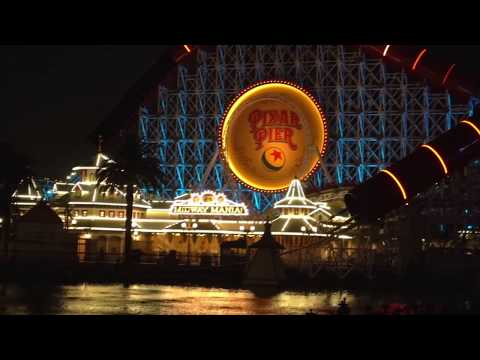 The Evolution/History Of Pixar Pier/Incredicoaster Construction Update | Disney California Adventure