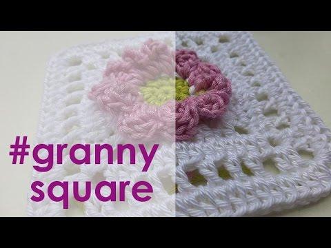 Nadelspiel Adventskalender 2014 24 Dezember Granny Square