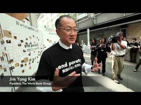 In Tokyo, Thousands of People Share their Ideas on Ending Poverty