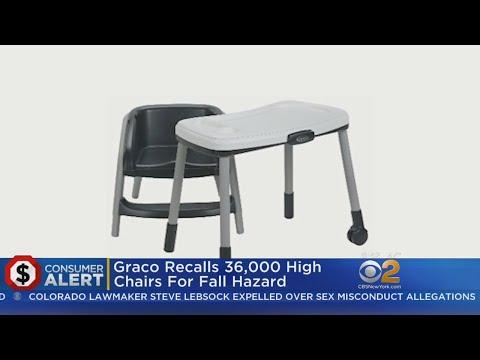 Graco Recalls 36,000 High Chairs