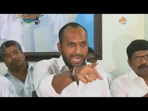 Nellore : YSRCP Leader Warns TDP Leader Mayur on Commenting YS Jagan  & MLA Anil Kumar Yadav