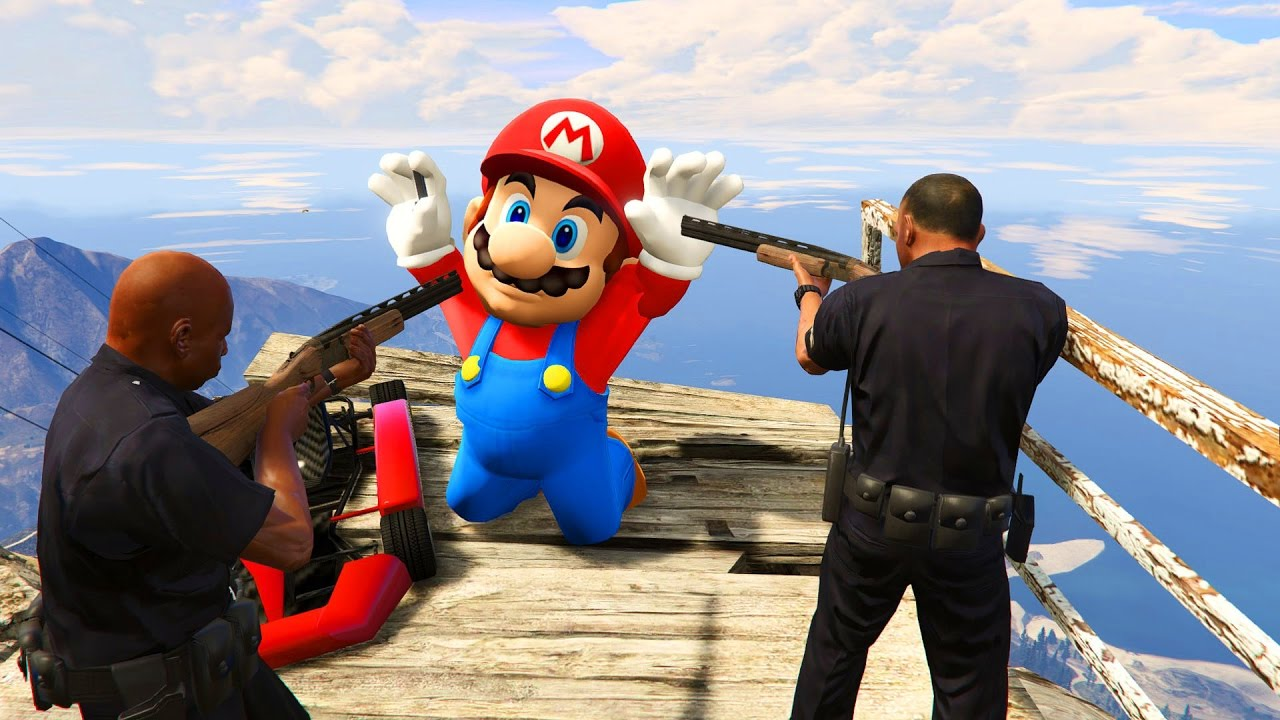 Tremendous actual Mario Odyssey Mod! Gameplay(GTA V Fail Humorous Moments)