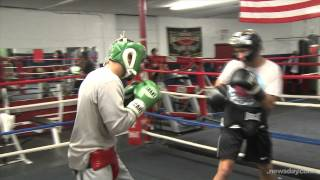 Boxing With A Helmet Cam