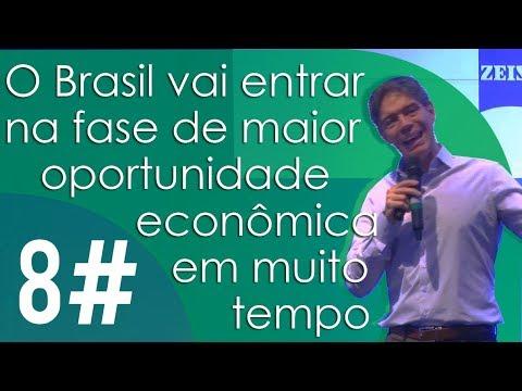 O Brasil vai entrar na fase de maior oportunidade econômica em muito tempo