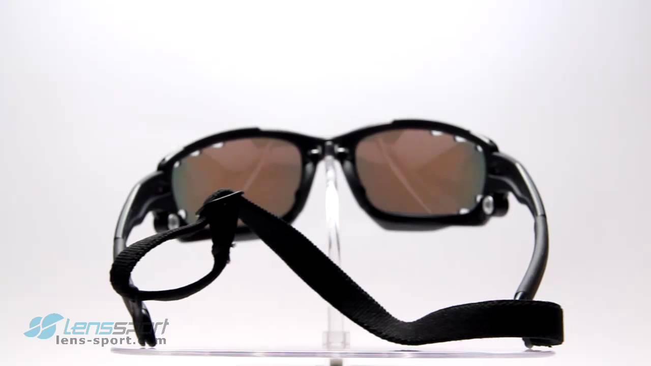 Gafas deportivas Oakley Racing Jacket Pol.(Jawbone)Matt Black/Red ...