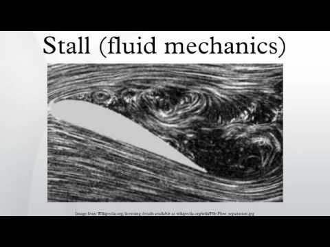 Stall (fluid mechanics)