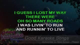 Against The Wind -  Bob Against Lyrics Karaoke  goodkaraokesongscom